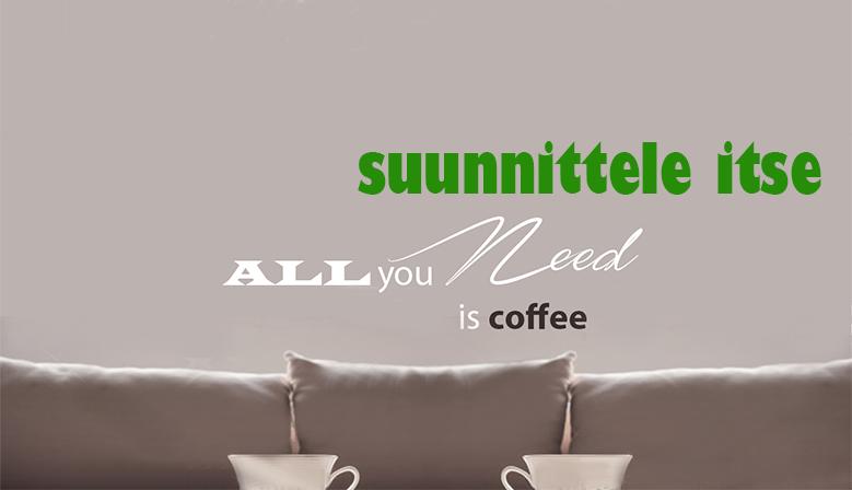 Kahvihetki antaa ajatuksille siivet...