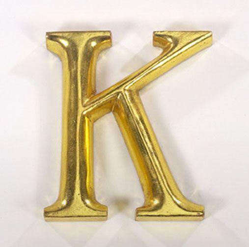 K Graffiti Letter K Graffiti Letters K Gold Gilded Font Neam