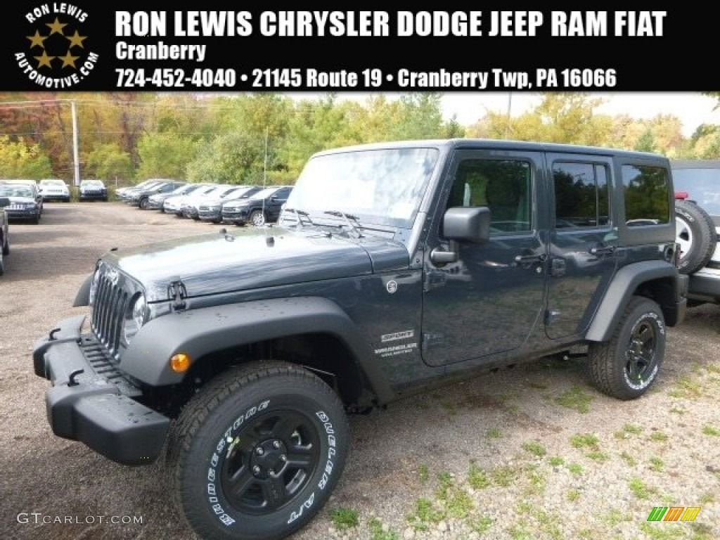 2017 Rhino Jeep Wrangler Unlimited Sport 4X4 116412063