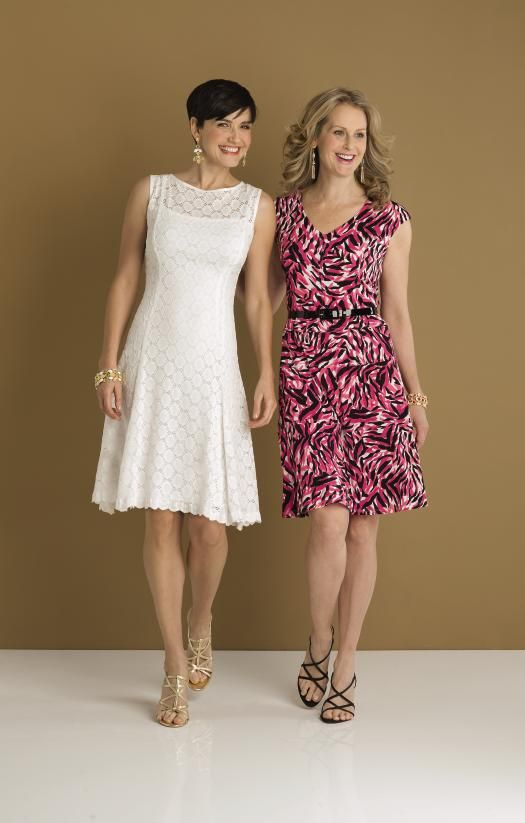 Ronnie Nicole White Lace Fit Amp Flare Dress Or Anne Klein