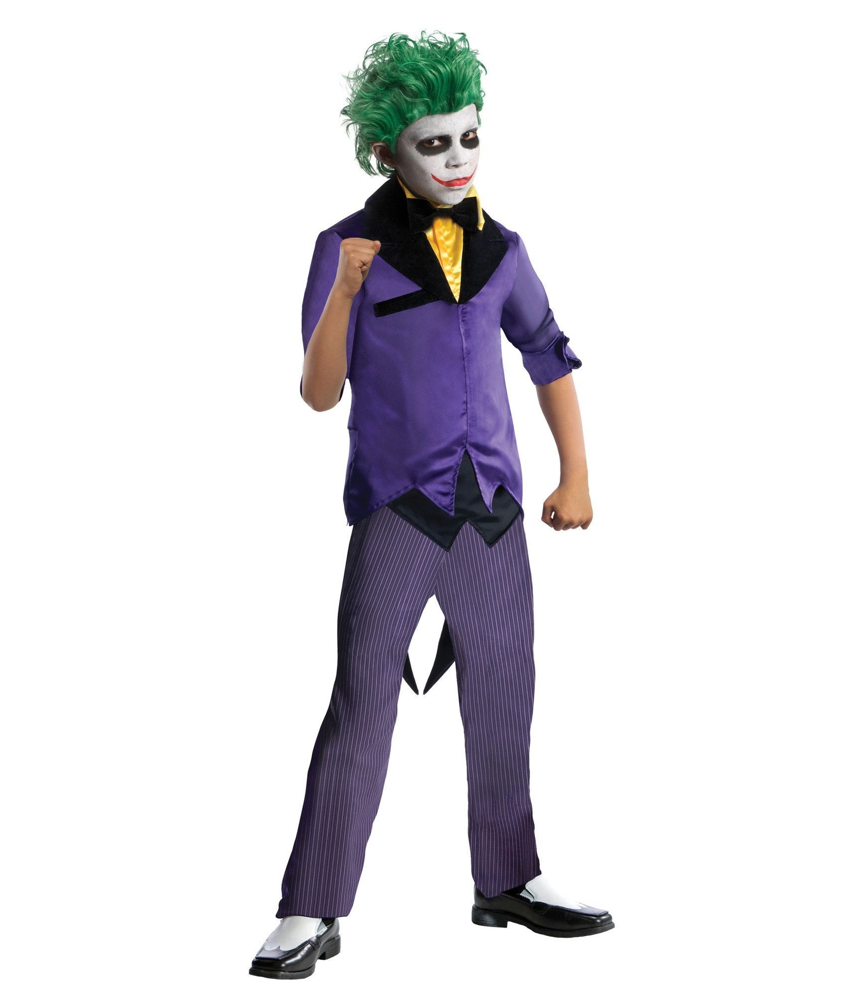 DC Comics Super Villains Joker Child Costume
