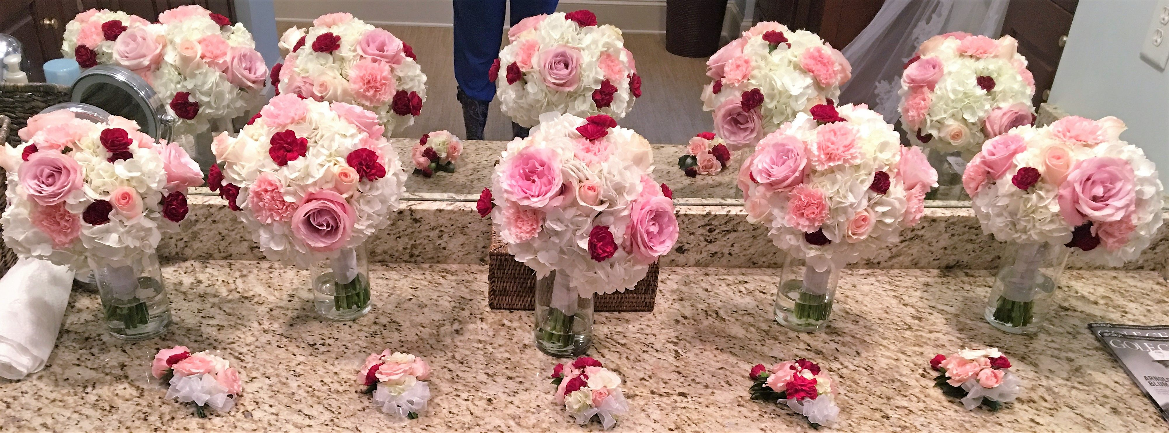 Wedding Bouquets Bouts Corsages By Southernfloralsanddrapes Com