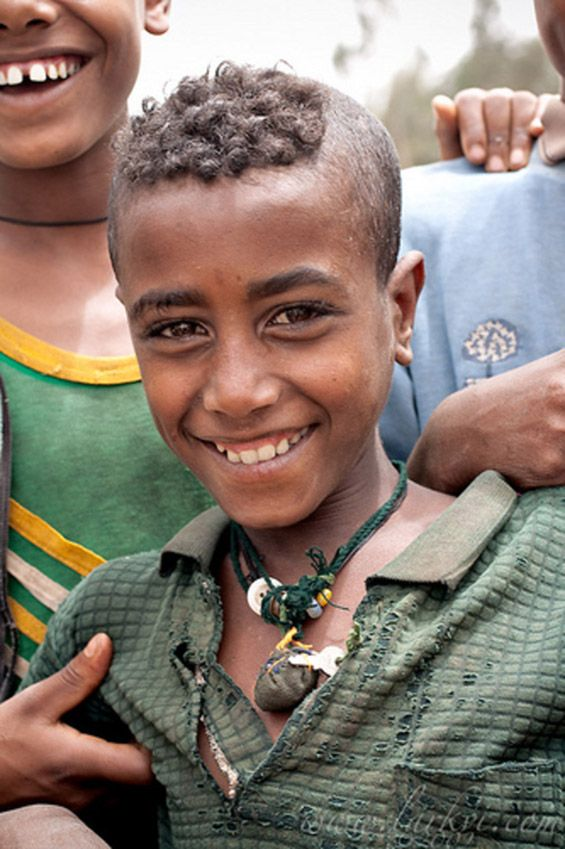 Amhara Boy With His Tribal Hairstyle Ethiopia People Of The - Ethiopian hipster hairstyle