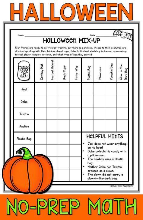 Halloween Math Worksheets Halloween Math Worksheets Math Pages Halloween Math Activities