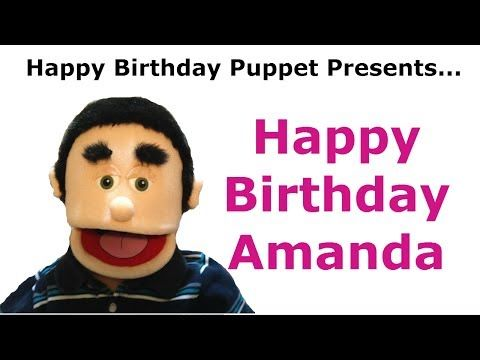 Funny Happy Birthday Amanda Birthday Song Youtube Happy