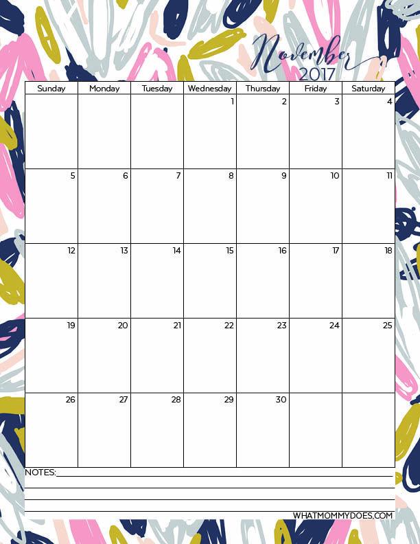 free printable 2017 monthly calendars pinterest 2017 calendar