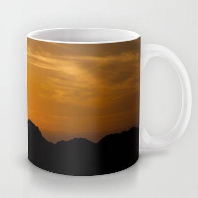 Sunset Mug by Oscar Tello Muñoz - $15.00