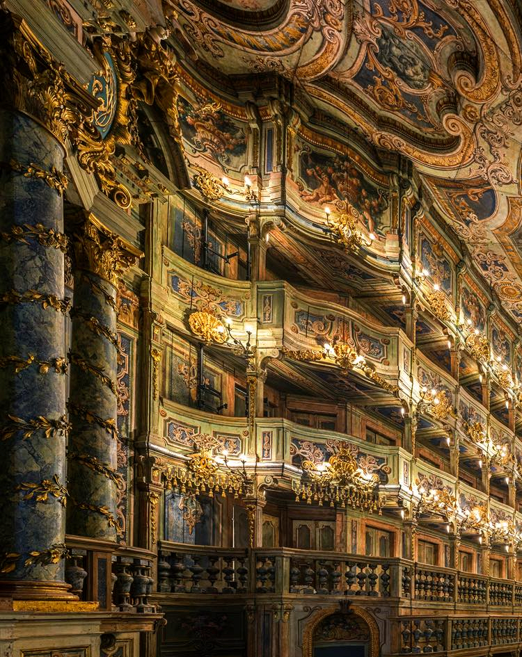 Gods And Foolish Grandeur Divine Visual Noise The Margravial Opera House Bayreuth Opera House Paris Opera House Opera