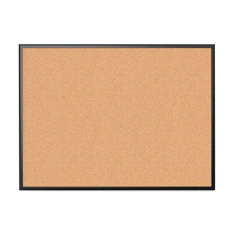 U Brands Cork Black Bulletin Board - 050U00-01