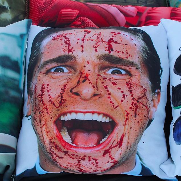 Fancy - American Psycho Pillow