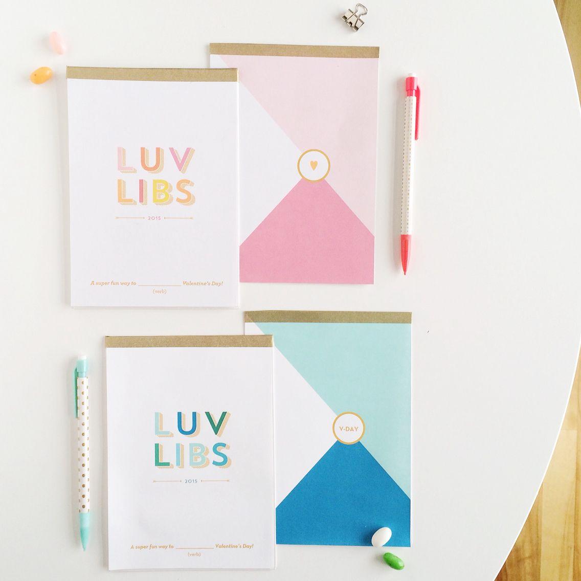 Free Printable Valentine S Mad Libs Notebooks