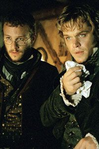 heath ledger and matt damon - brothers grimm = adorable!!