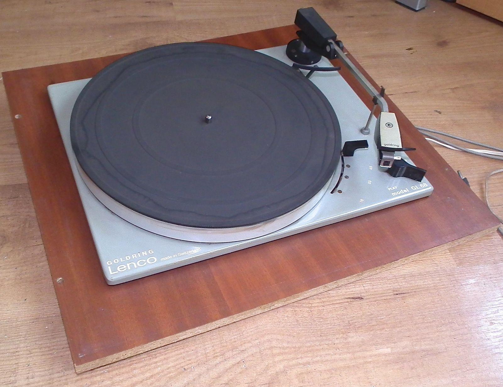 Vintage goldring #lenco gl 68 #record player hi fi turn ...