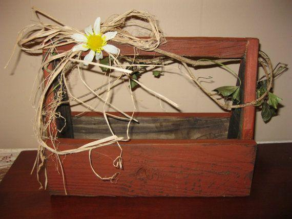 wooden tool box etsy. items similar to primitive wedding wooden tool box on etsy