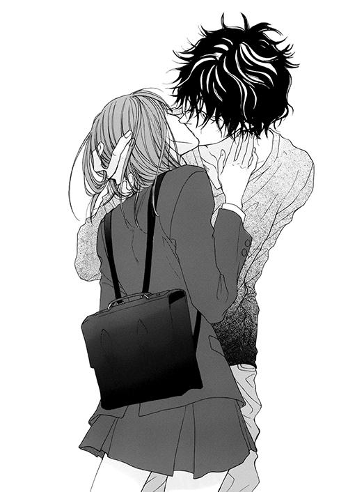 Cute Manga Couple  E  A