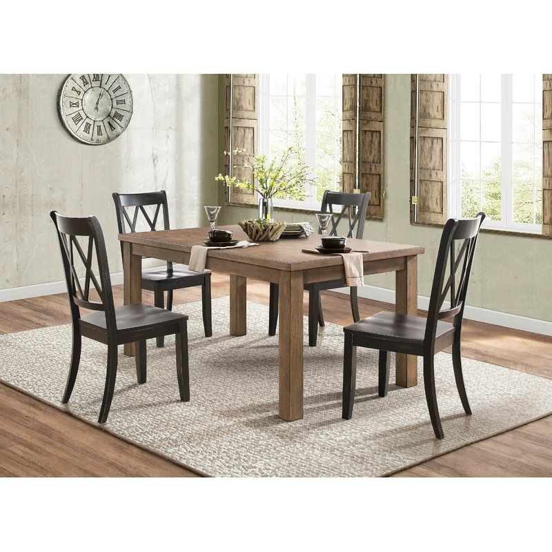 32 Stylish Dining Room Ideas To Impress Your Dinner Guests: Gianna Solid Wood Dining Chair