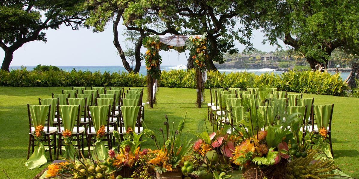 Weddings at Sheraton Kona Resort & Spa at Keauhou Bay in
