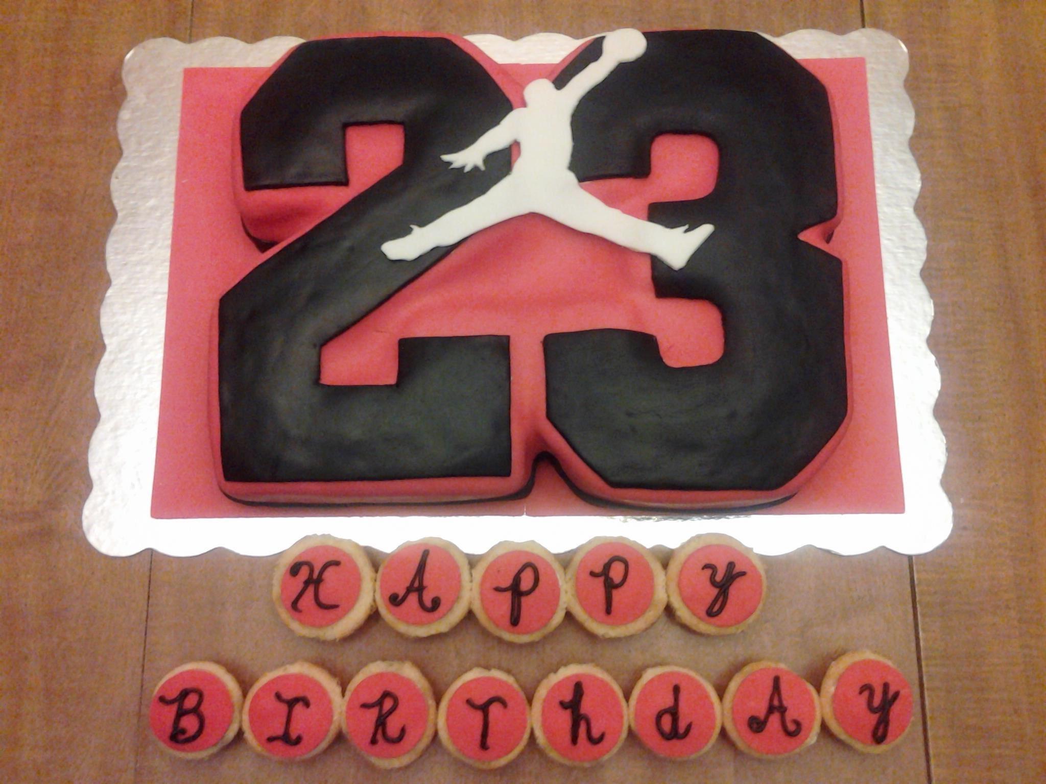 Michael Jordan Cake Custom Cakes Pinterest – Michael Jordan Birthday Card