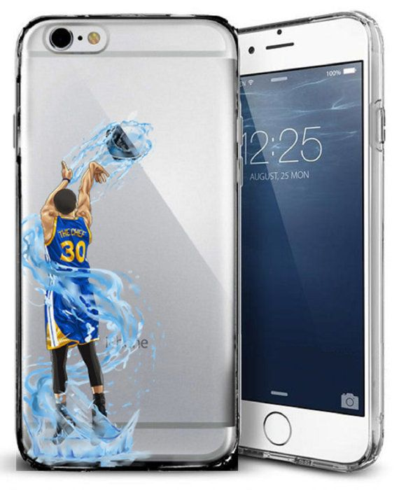 Splash Curry Basketball Series Clear TPU Case For Apple