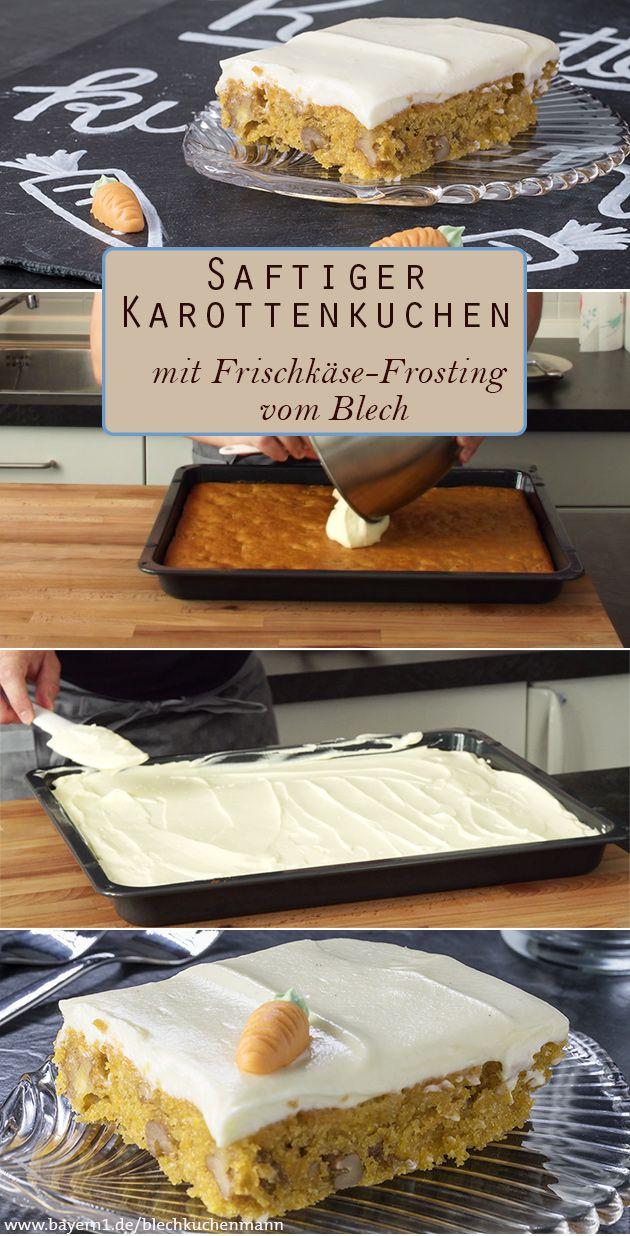 karottenkuchen rezept f r walnuss karottenkuchen mit frosting der blechkuchenmann. Black Bedroom Furniture Sets. Home Design Ideas
