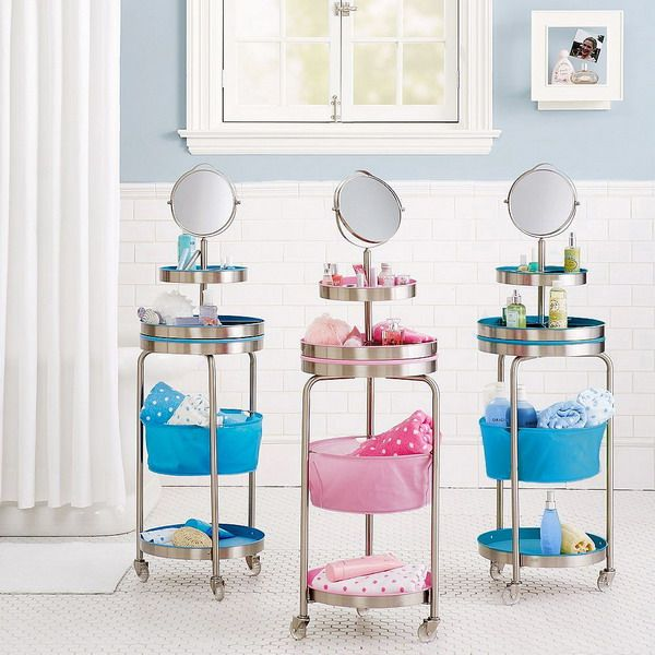 Makeup Storage In Specially Designed Furniture