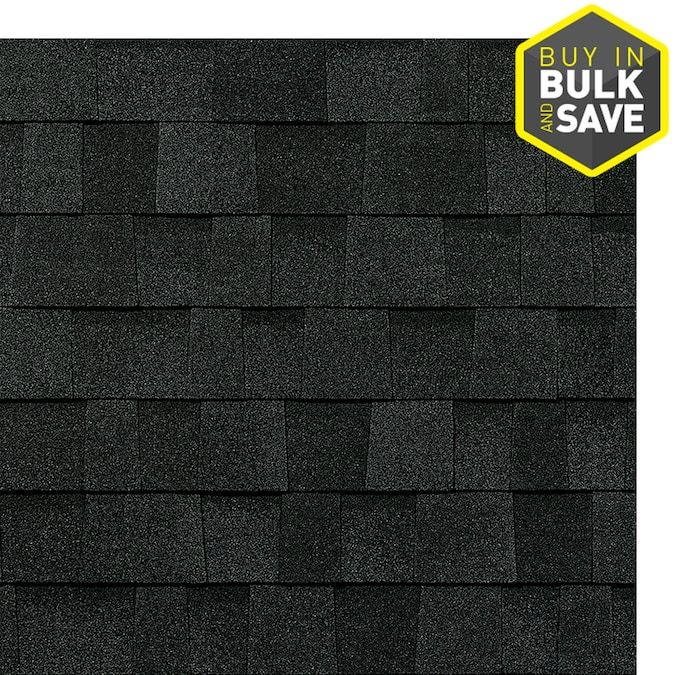 Owens Corning Trudefinition Duration 32 8 Sq Ft Onyx Black Laminated Architectural Roof Shingles Lowes Com In 2020 Architectural Shingles Roof Roof Architecture Roof Shingles