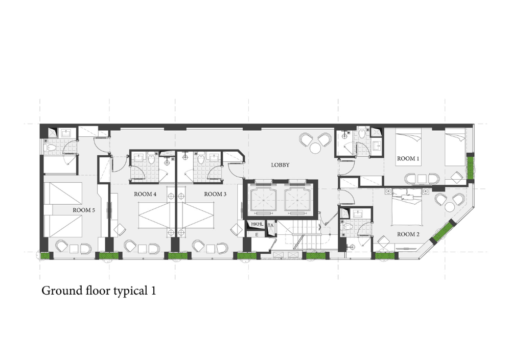 Gallery Of Venue Hotel Aline Architect 13 Hotel Floor Plan Hotel Architect
