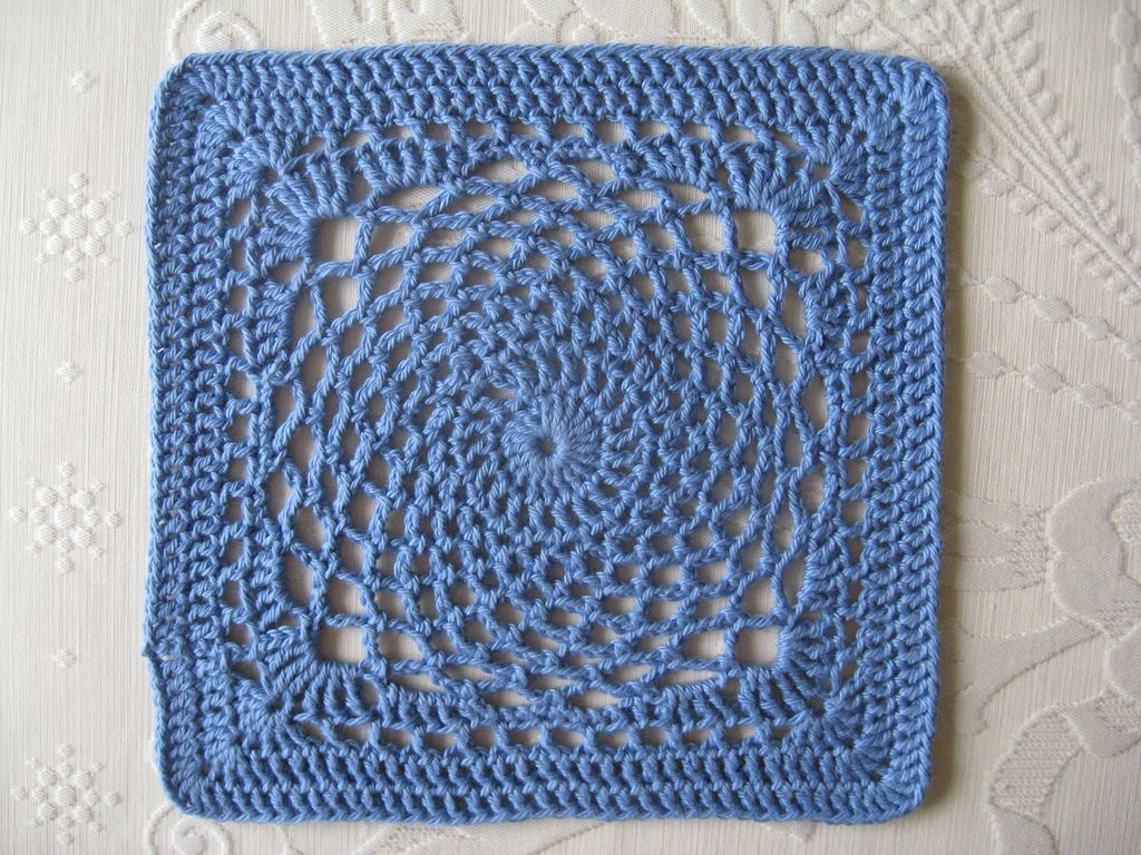 Dream Catcher Square Motif By Sherry Welch - Free Crochet Pattern ...