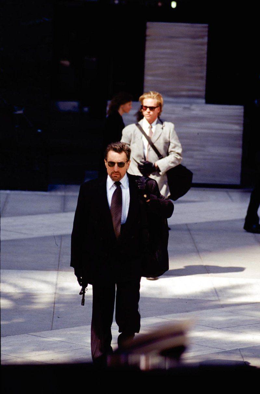 Robert De Niro And Val Kilmer In Heat 1995 Heat Movie