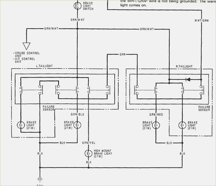 1990 Honda Accord Brake Light Wiring Diagram