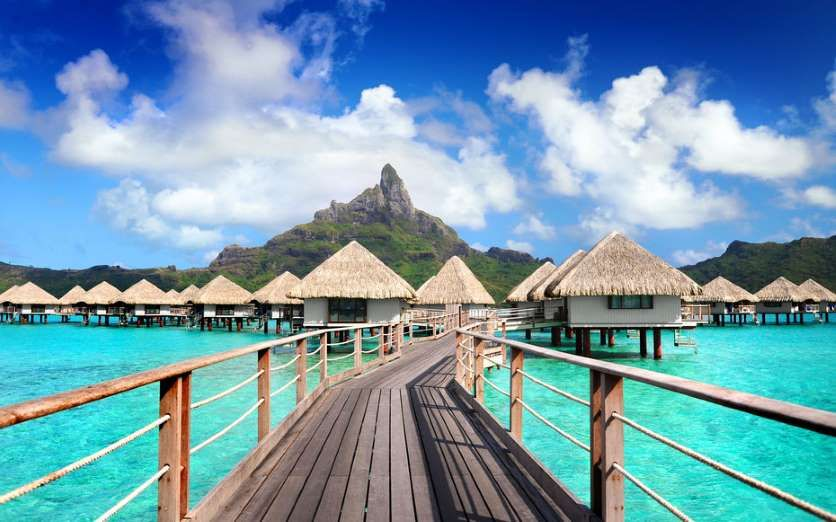 Home to the Bora Bora turtle center, Le Méridien Bora Bora offers Polynesian-style overwater bungalows with local handicrafts set on a private lagoon. Don't miss a romantic, sunset boat ride in one of the resort's traditional pirogues.