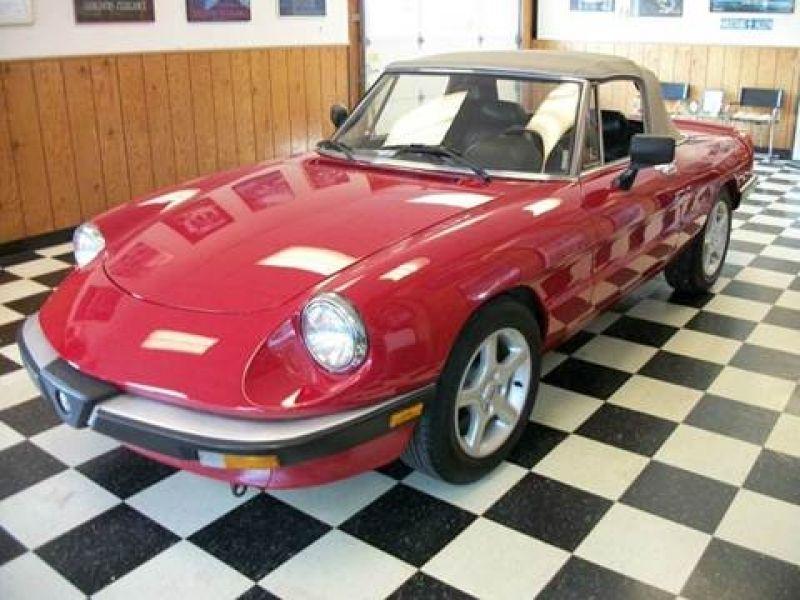 Alfa Romeo Spider For Sale Carsforsale Pertaining To - 1967 alfa romeo spider for sale