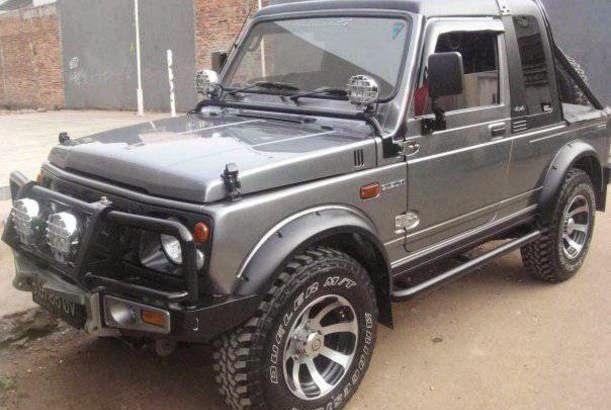 Contoh Modifikasi Mobil Suzuki Katana Gx Jeep Pinterest Suzuki