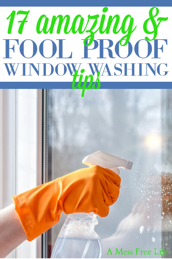 The Best Way To Clean Windows Without Streaks Window Cleaner