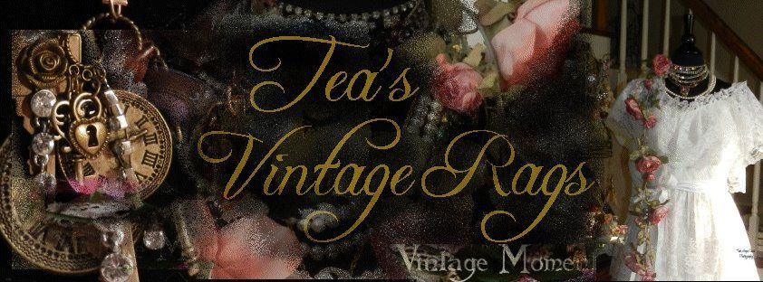 Visit me on Facebook...https://www.facebook.com/VintageRags