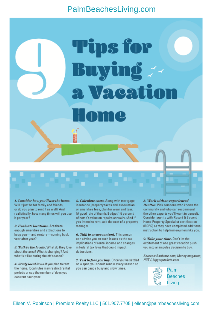 9 Tips for Buying a Vacation Home that will help you choose
