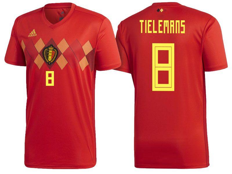 buy online 90309 8b83b 2018 Belgium World Cup Authentic Jersey #8 | Belgium World ...