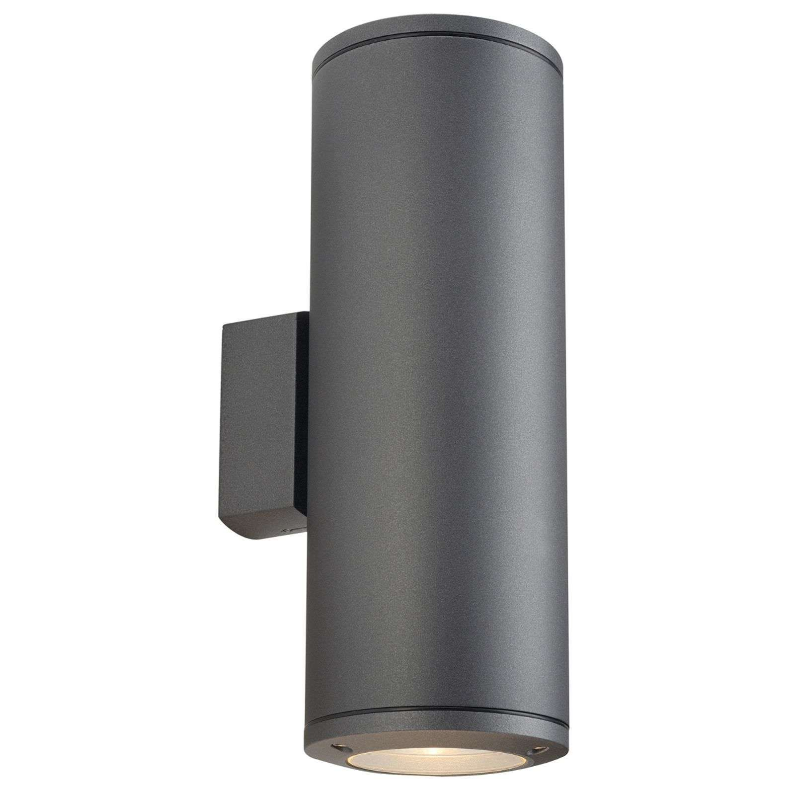 Up /& Down LED 2 x 5 Watt Aussenleuchte mit Bewegungsmelder Edelstahl
