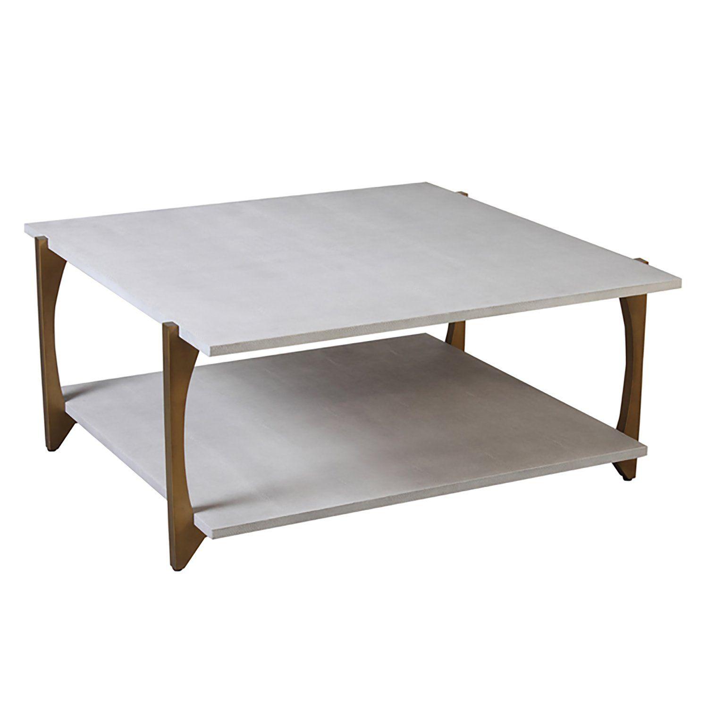 Worlds Away Roman Coffee Table In 2021 Shagreen Coffee Table Coffee Table Rectangular Coffee Table [ 1500 x 1500 Pixel ]