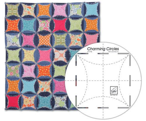 Charming Circles Ruler Quilting Template by June Tailor | eBay