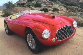 1948 Ferrari 166 Red Barchetta The Car That The Band Rush Wrote