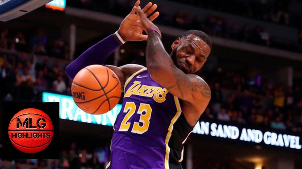 Los Angeles Lakers Vs Denver Nuggets Full Game Highlights 11 27 2018 Nba Season Lakers Vs Denver Nuggets
