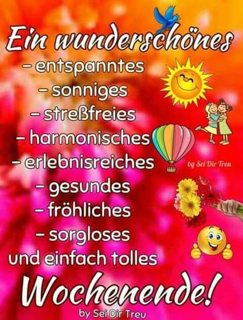 Endlich Wochenende Sprüche Pinterest Happy Weekend Bon