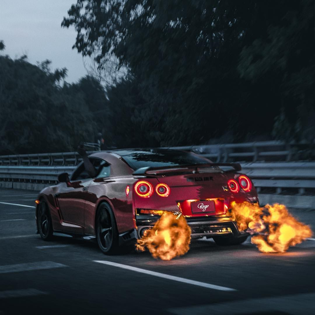 Datsun Car Wallpaper: ️Fire Breathing Godzilla. By @r.ego #carlifestyle #gtr