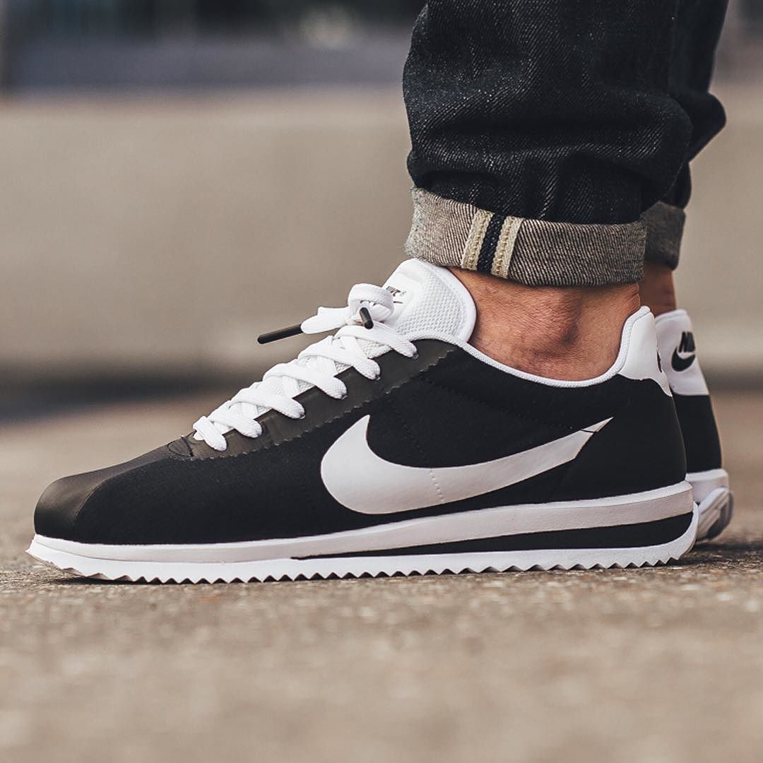 newest efc27 27455 Nike Cortez Ultra - Black White available in-store and online  titoloshop  Berne   Zurich by titoloshop