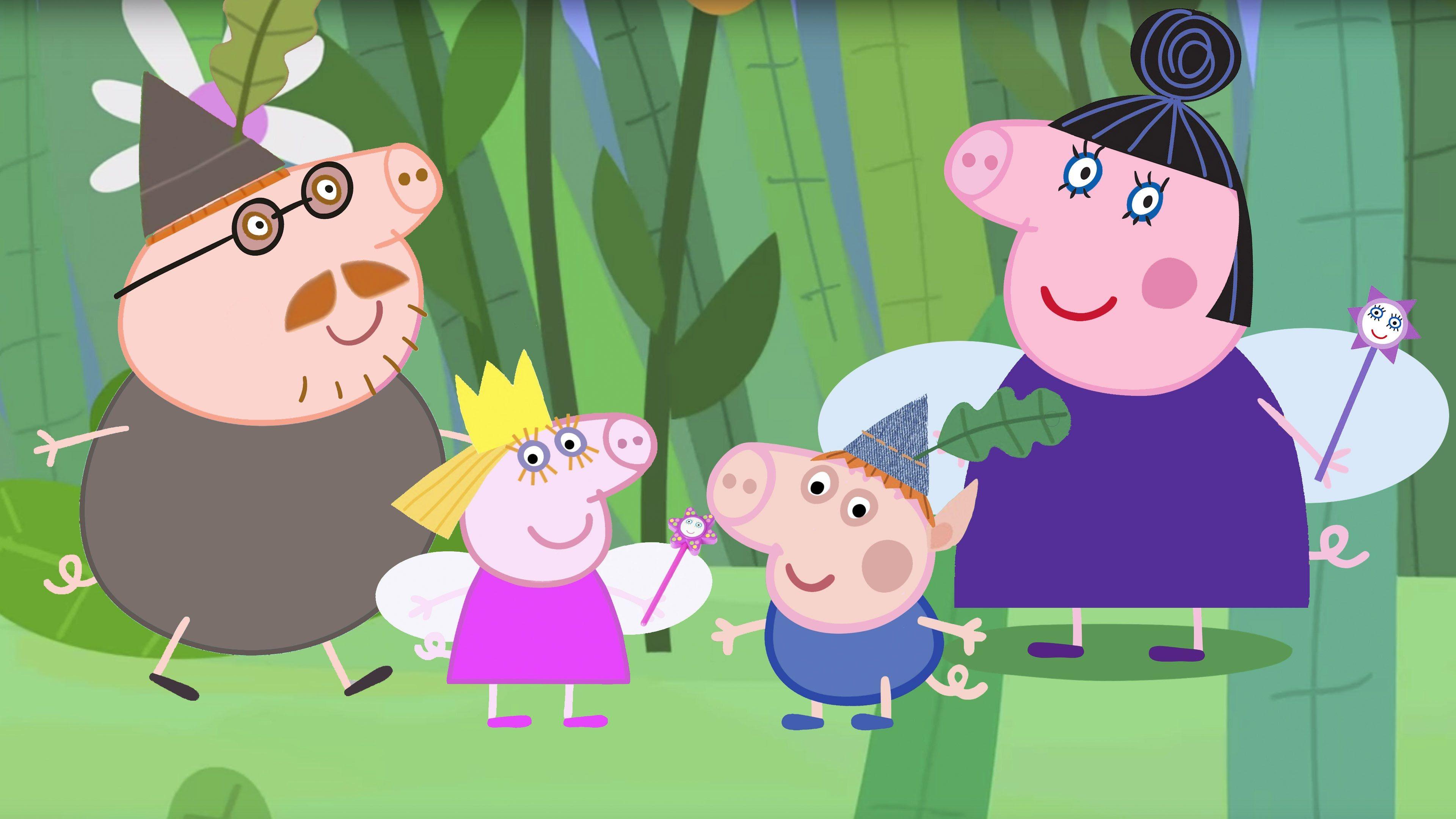 Hoy Disfrazamos A Peppa Pig Y Su Familia De Los Personajes