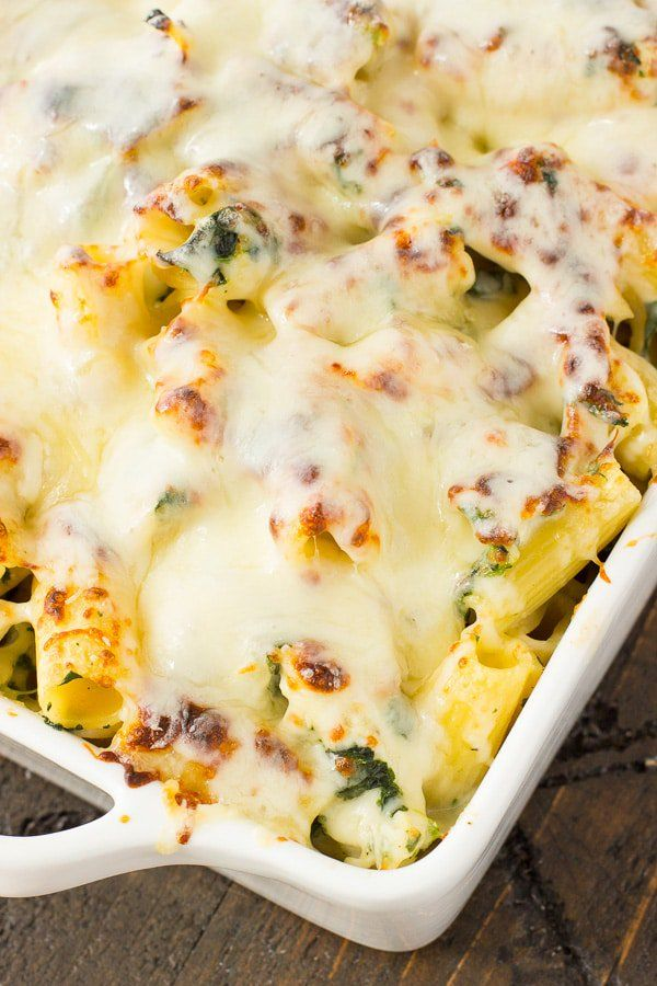This Spinach & Artichoke Chicken Casserole will make you forget that having it as a dip was ever an option! Such an easy dinner casserole!