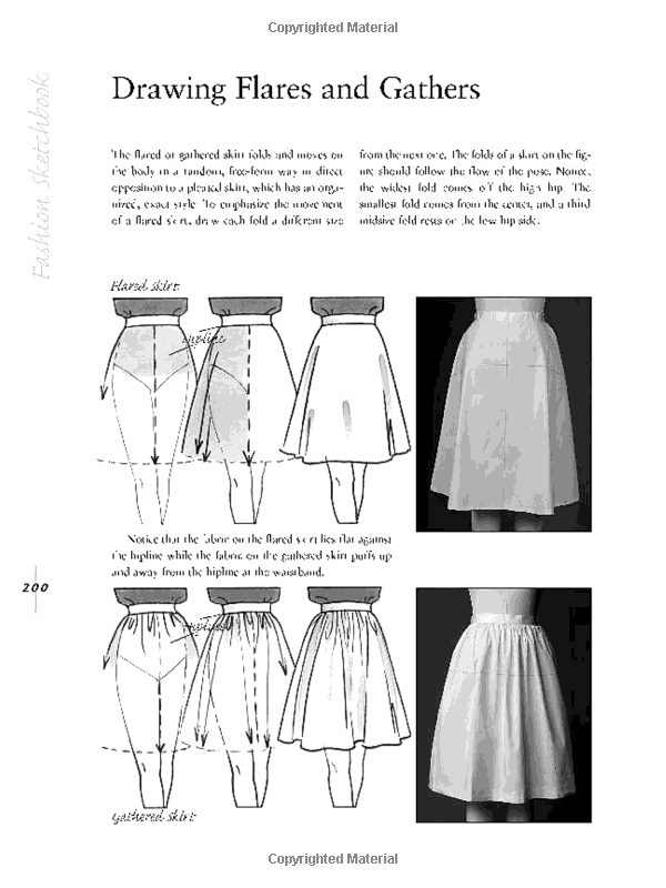 Drawing flares and gathers from fashion sketchbook by bina abling drawing flares and gathers from fashion sketchbook by bina abling fandeluxe Image collections