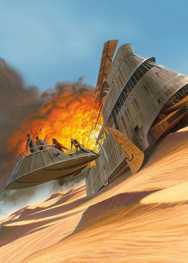 "Official Star Wars Vintage Jabba's Barge Blow #Displate explore Pinterest""> #Displate artwork by artist… | Displate thumbnail"