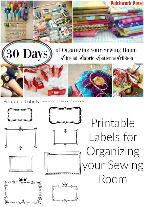 Printable order labels for the craft Printable order labels for the craft